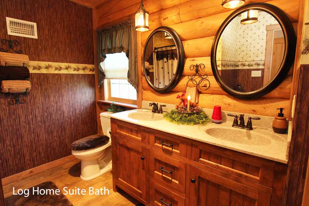 Log Home Suite at Iron Stone Acres