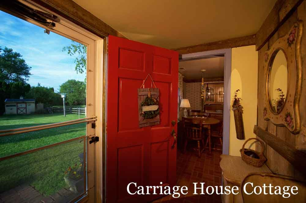 Carriage House Cottage at Osceola Mill House Bed & Breakfast