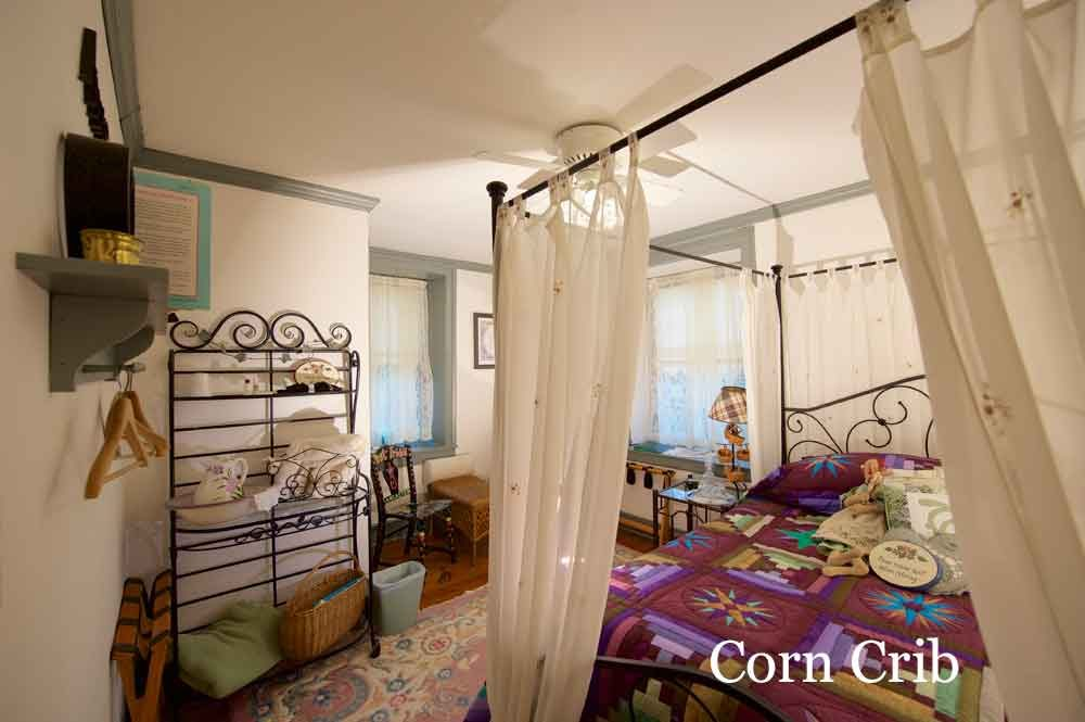 Corn Crib Room at Osceola Mill House Bed & Breakfast
