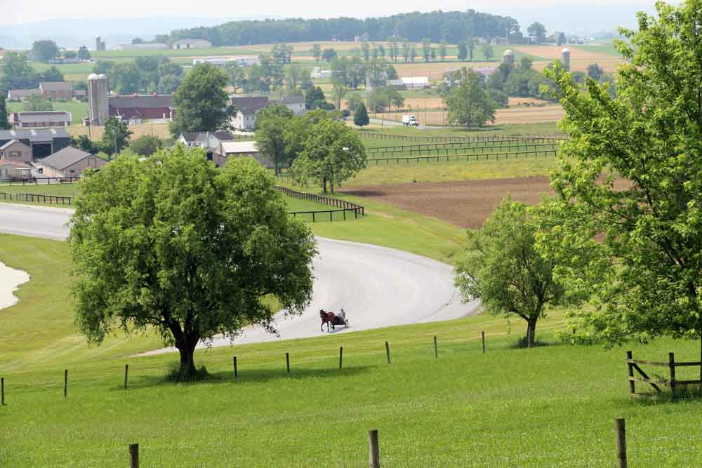 Lancaster County Pennsylvania Scenic Lodging